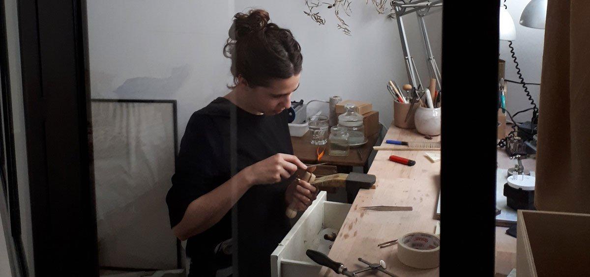 El taller de joyas a medida de MIGAYO