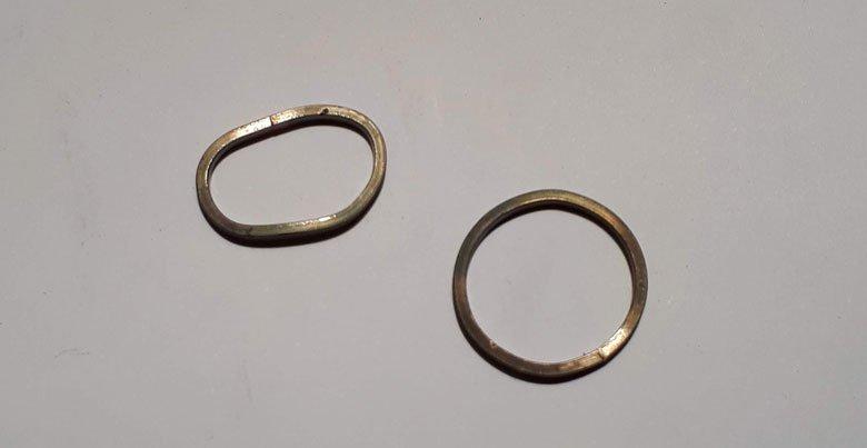 Joyas a medida: El proceso de las alianzas en oro blanco con perla y diamantes grises de MIGAYO