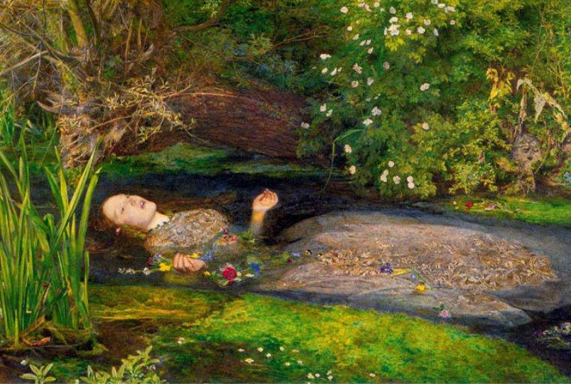 Ofelia de John Everett Millais