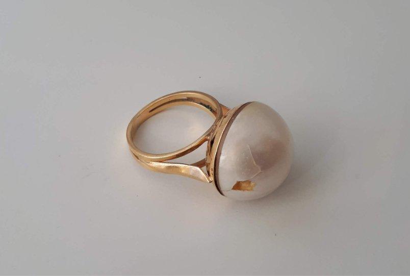 El anillo de partida para el anillo a medida