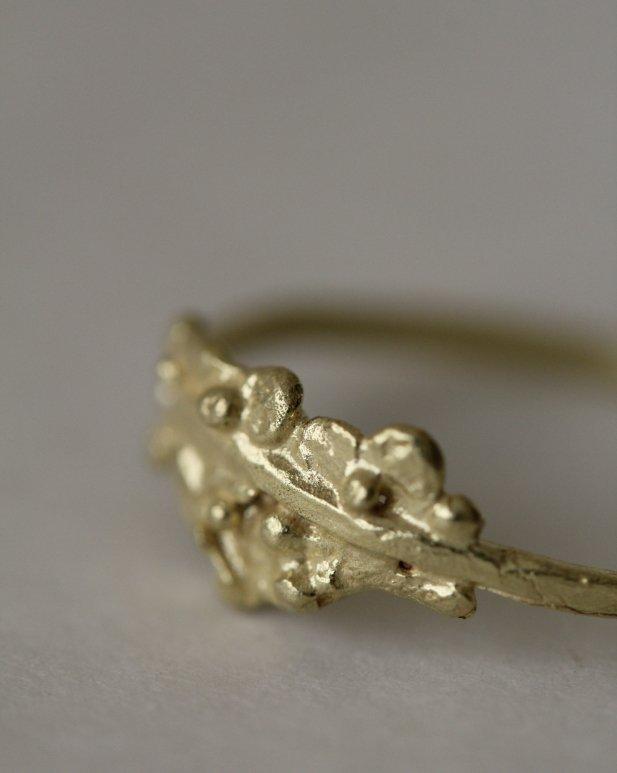 anillo arbusto de la Colección Campo de MIGAYO