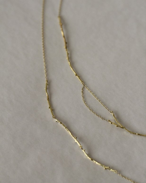 Collares de ramas de la Colección Campo de MIGAYO
