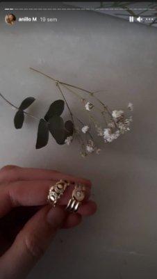 Proceso de creación del anillo 'Rodeada por su familia' de MIGAYO