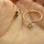 Migayo_joyas a medida: pendientes y anillo de pedida