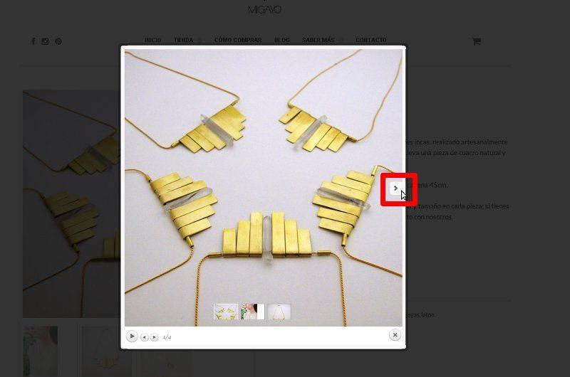 Galería de imágenes del Collar Perú
