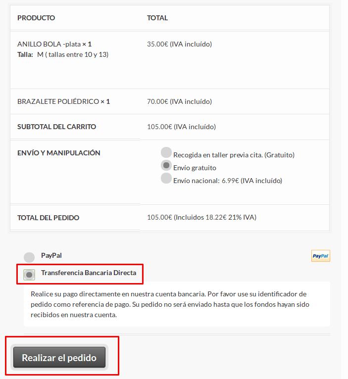 C mo pagar con transferencia bancaria for Transferencia bancaria