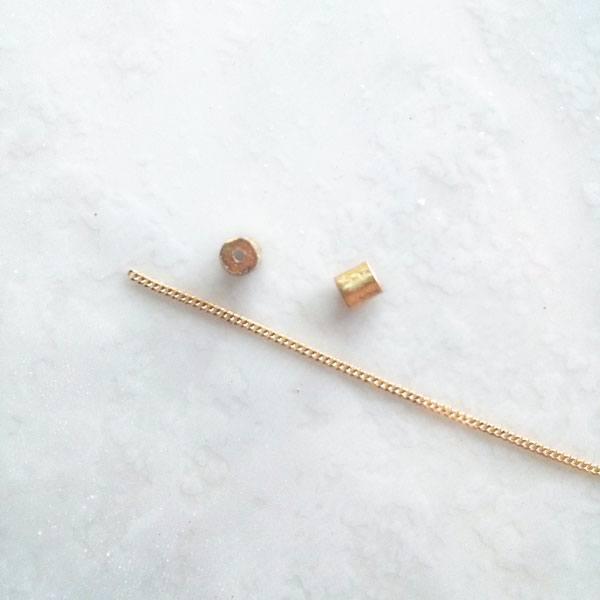 Colgante de oro con esmeralda Migayo