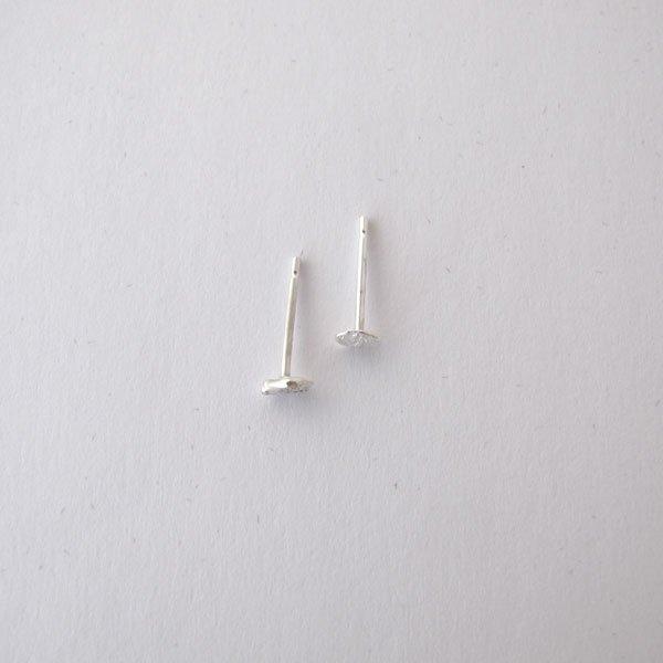 Pendiente plata textura Migayo
